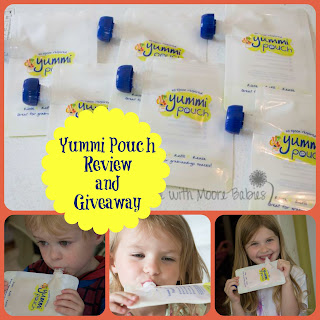 Yummi Pouch Review and Giveaway