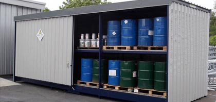 Kimyasal atık konteyner