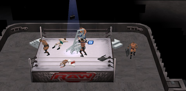 Download WWE SmackDown VS. Raw 2011 Game PSP