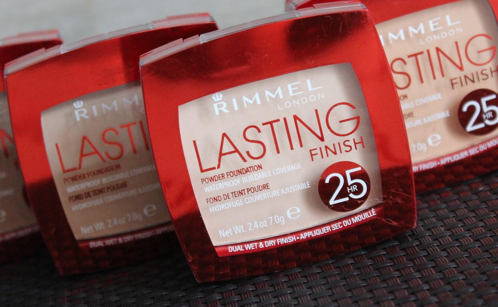 Rimmel Lasting Finish 25hr podloga u kamenu - sve nijanse