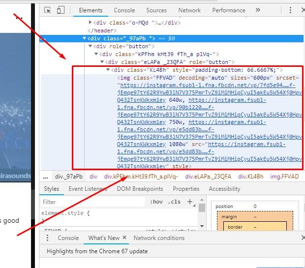 Cara Download Foto IG di Komputer Lewat Inspect Element Terbaru 2019 2