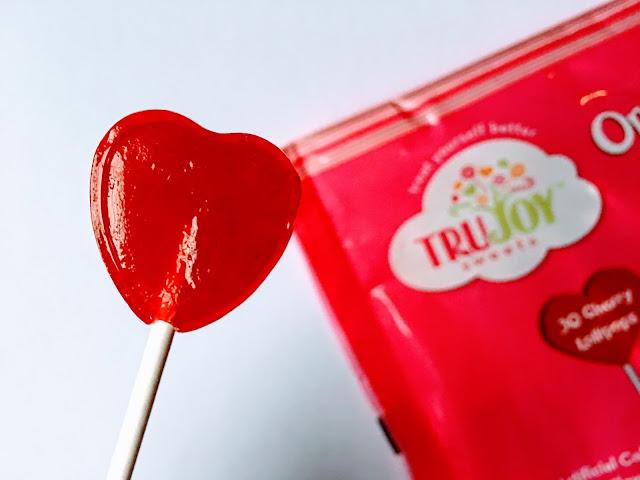 TruJoy Lollipops Hearts