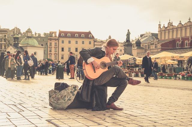 Street performing