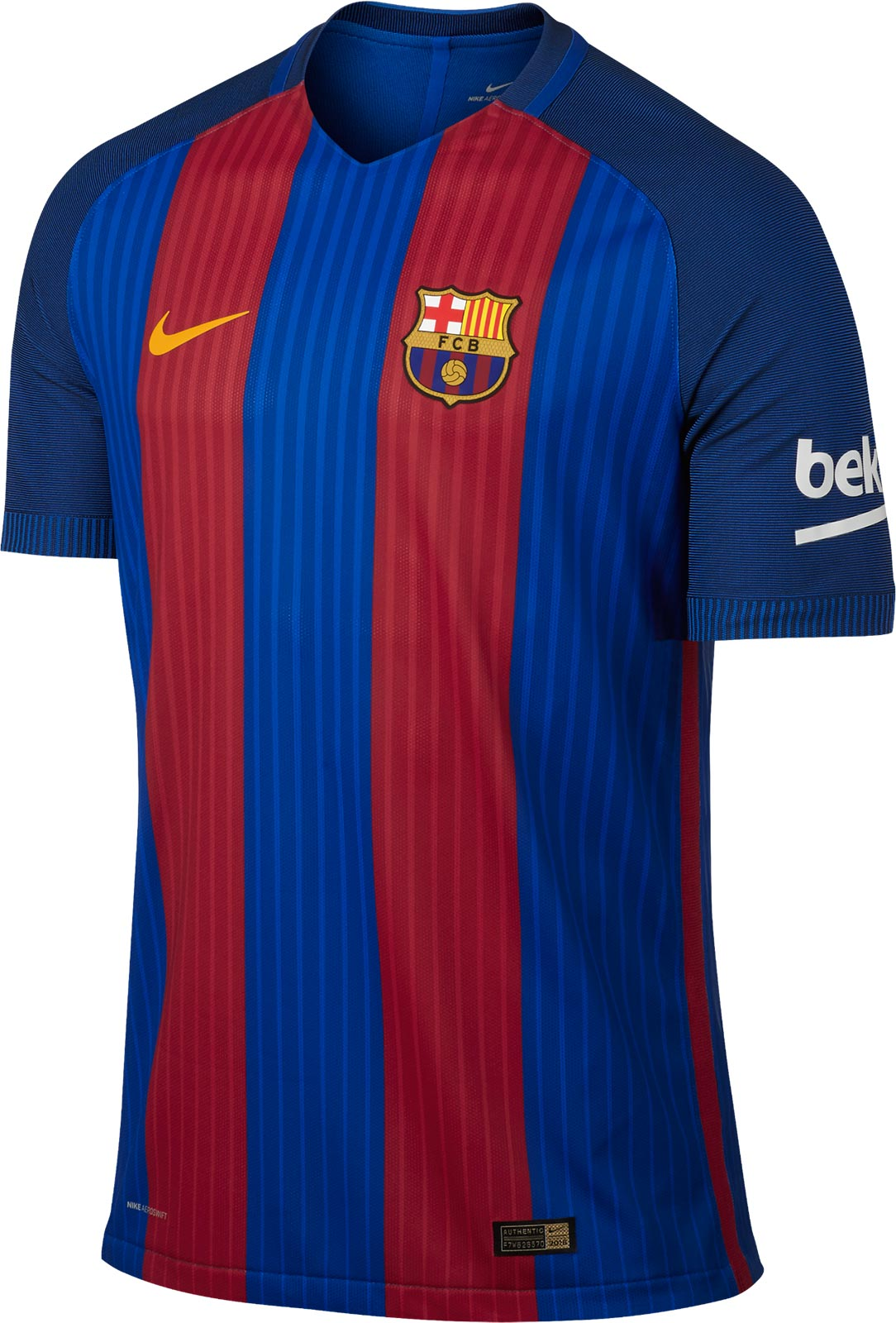 Barcelona 16 17 Home Kit Released Footy Headlines
