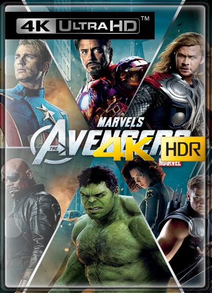 Los Vengadores (2012) 4K (HDR) LATINO/INGLES