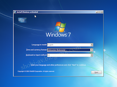 setting tanggal dan waktu install windows 7