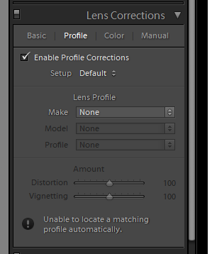 Looking into Lens Corrections | Look, See, Reflect, Do