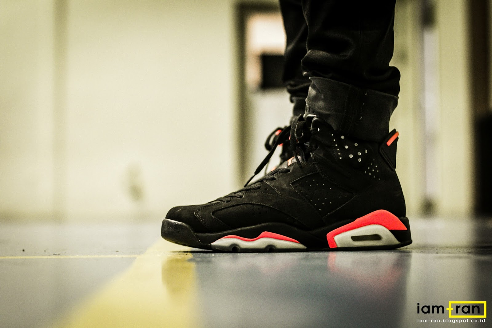 promo code ba297 0d5f9 IAM-RAN: ON FEET : Vitra -Nike Air Jordan 6 Infrared