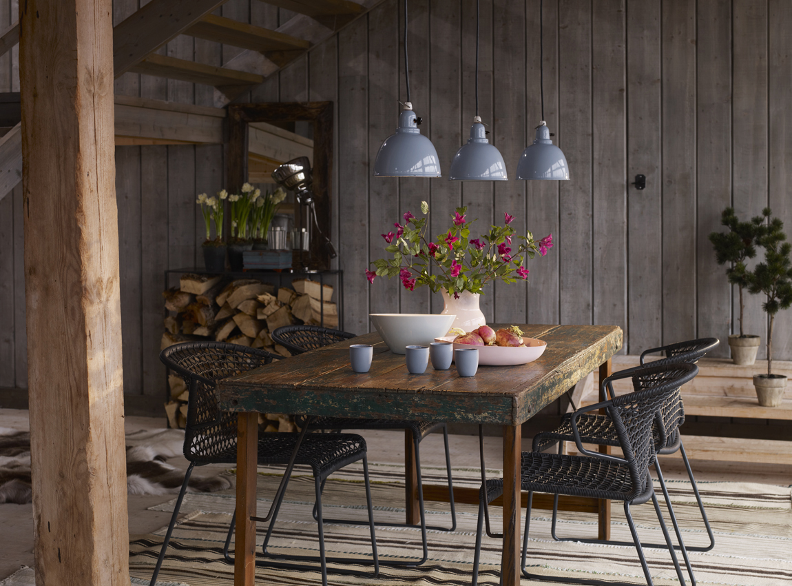Rustic Industrial Interior Design