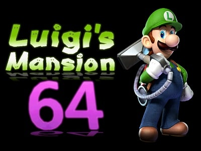 Luigis Mansion  Mod 64 (USA) en INGLES descarga directa