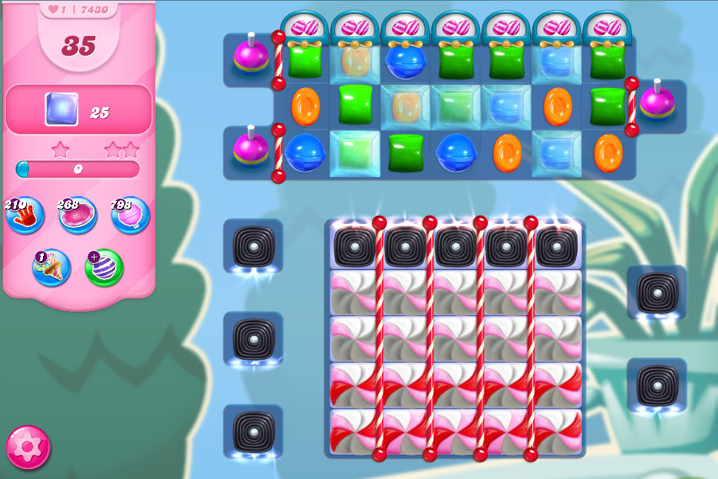 Candy Crush Saga level 7430