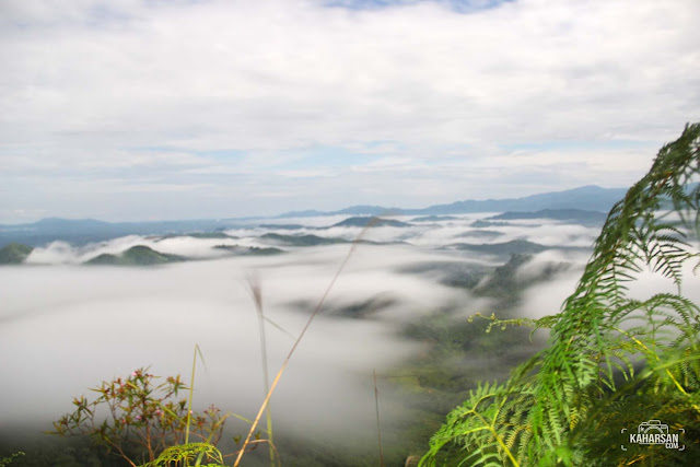 Awan Puncak Mentajam Bukit Bongku Kec Nanga Mahap Kab Sekadau - kaharsan