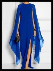 chiffon dress-elegant dress