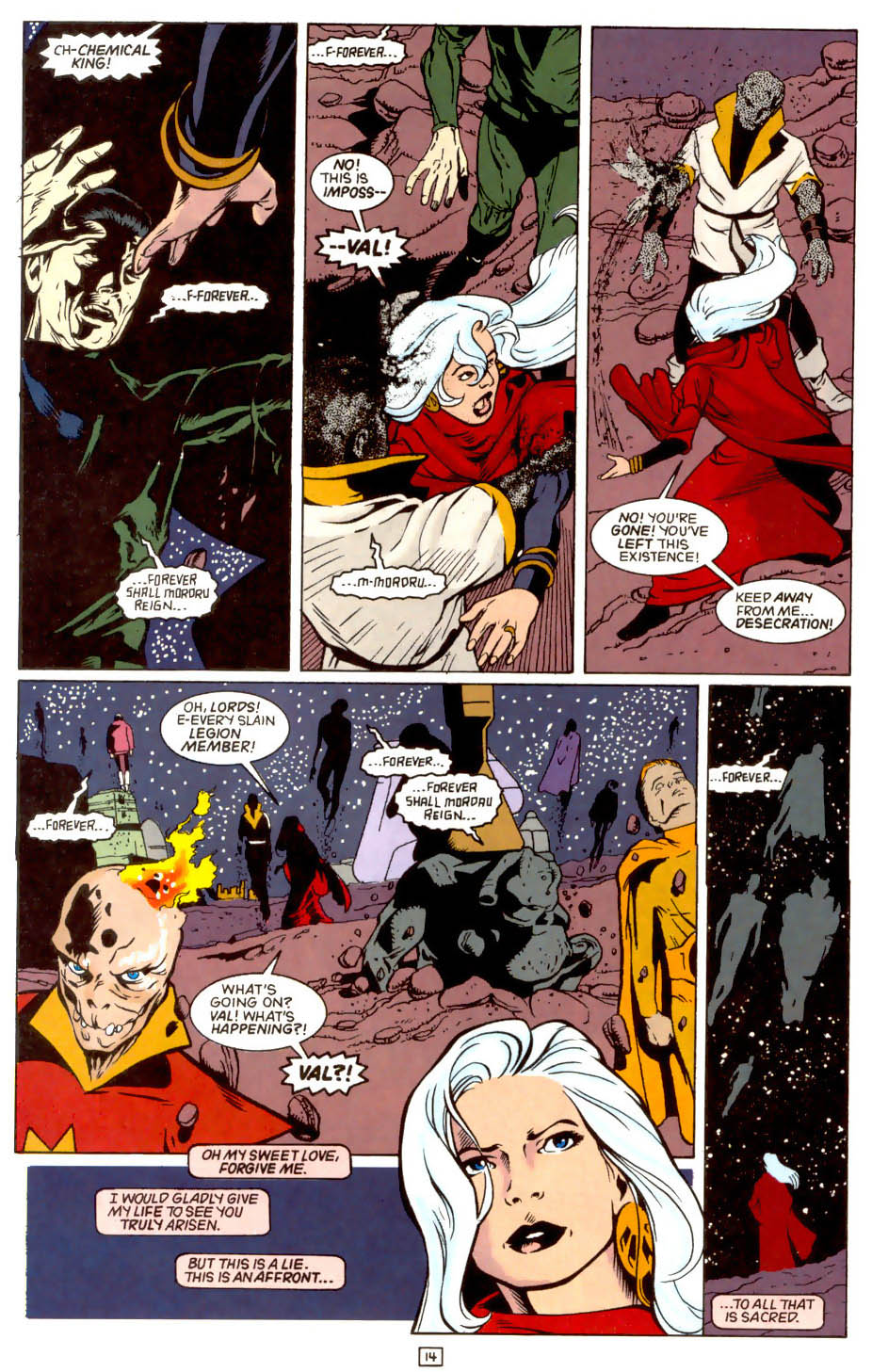 Legion of Super-Heroes (1989) 44 Page 14