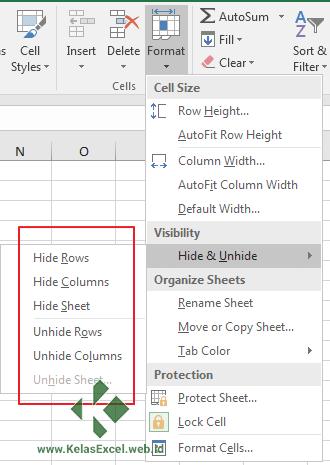 Hide-unhide Baris Excel