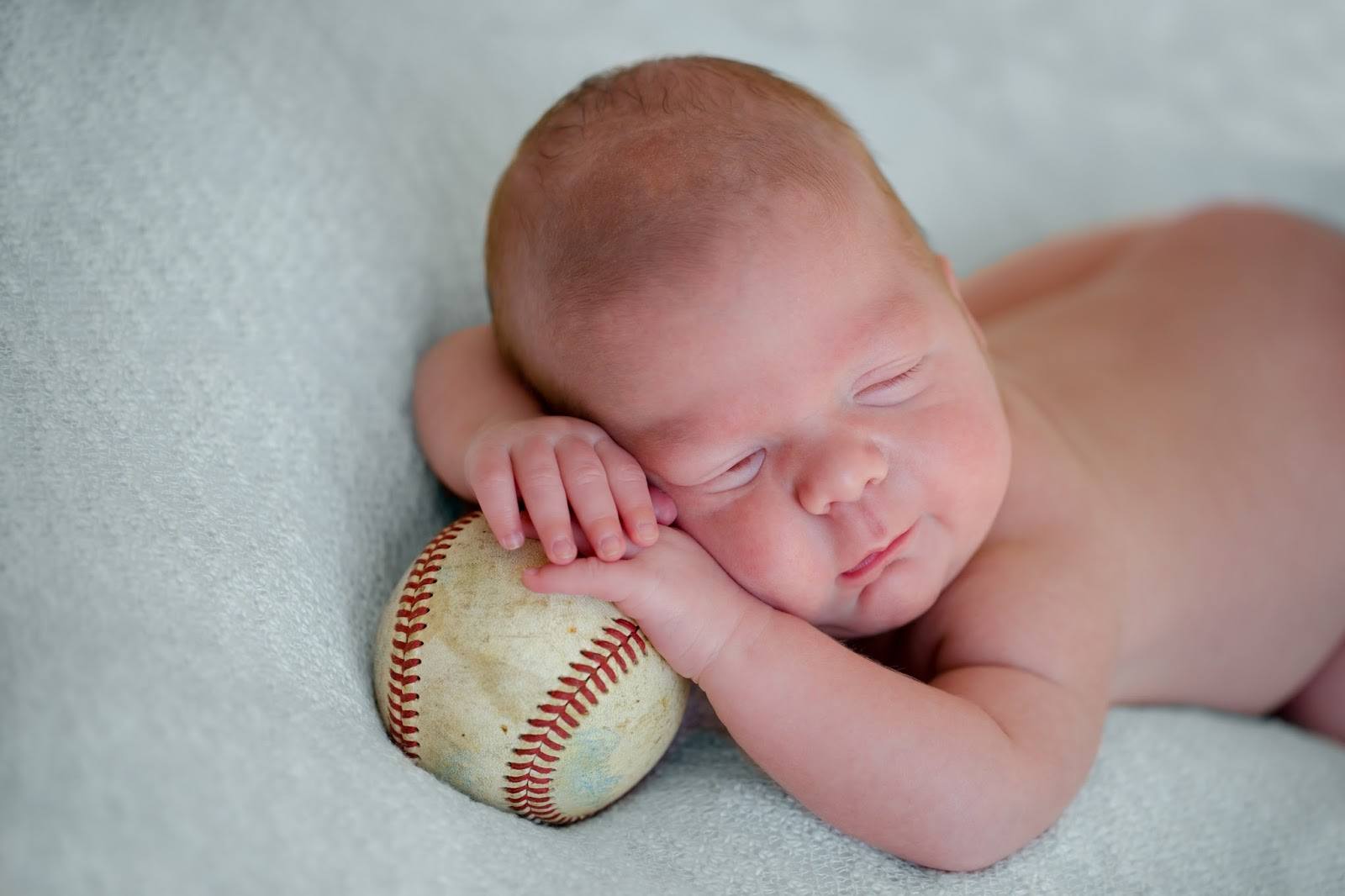 newborn baby boy softball