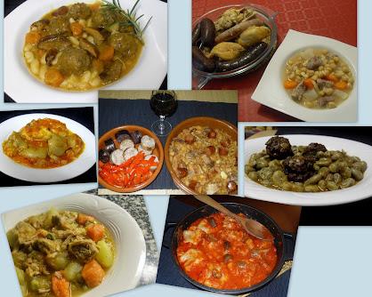 Guisos, potajes y platos de cuchara.