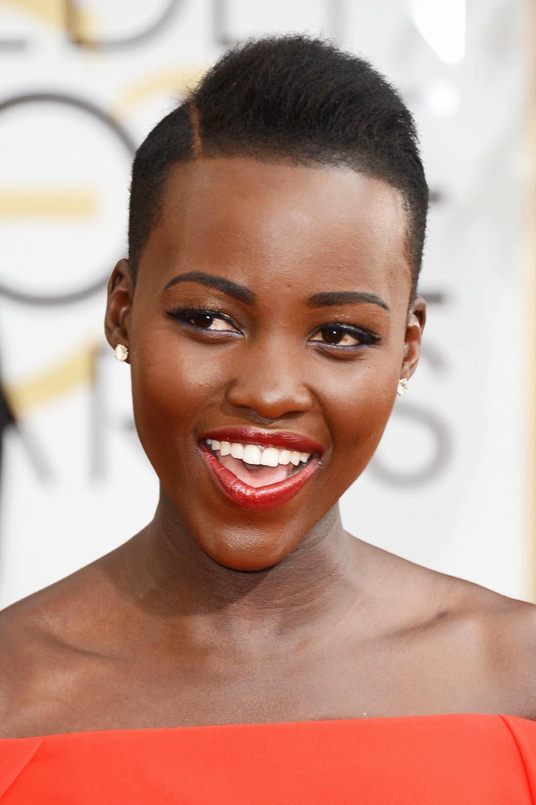 Get Lupita Nyong O S Red Carpet Natural Hair Style