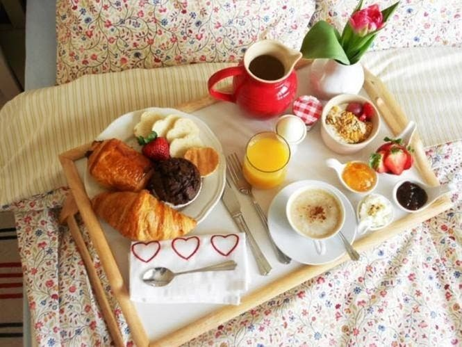 Kathy S Vintage Modern Recipes Breakfast In Bed Ideas