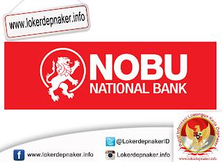 Lowongan Kerja PT Bank Nationalnobu