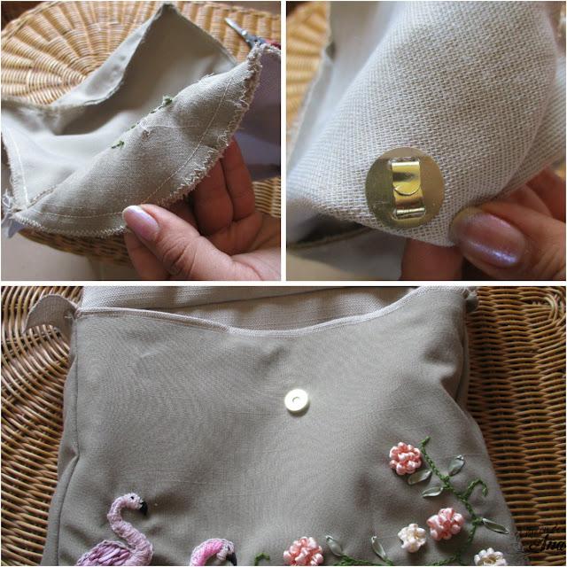 Bolsa de tela DIY