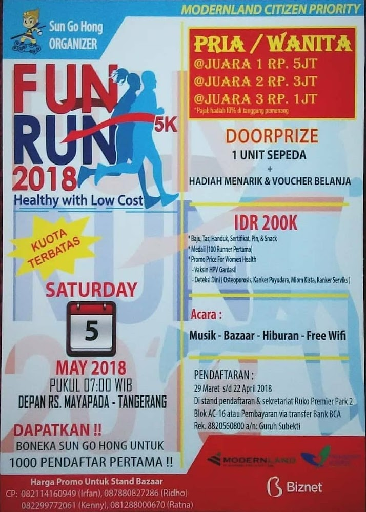 Fun Run 5K • 2018