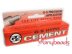 GS Hypo Cement - Glue for Jewelry Making