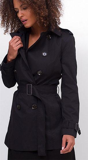 Renner coleção inverno casaco trench coat com cinto