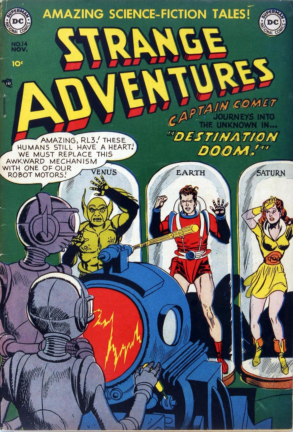 Strange Adventures (1950) issue 14 - Page 1