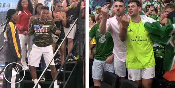 Photos: Conor McGregor's Fans Bully Floyd Mayweather's Children