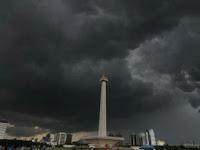 Ehem, Hujan sejak Pagi,  Jakarta Banjir, Eh Salah, Maksudnya Tergenang