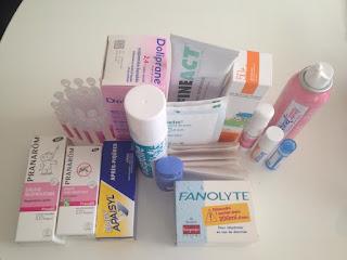 Pharmacie de voyage - bébé deux ans et demi
