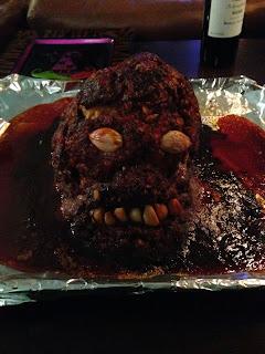 Halloween, Inventive Halloween Menu, Creepy, Gore, Horror, Meatloaf