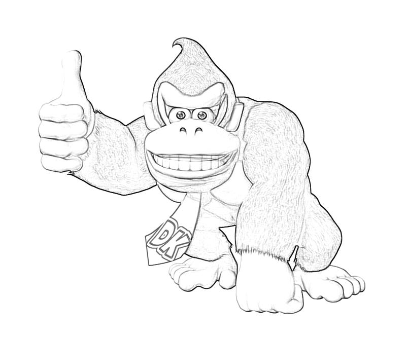 Donkey Kong Country Returns Donkey Kong Cute | Mario