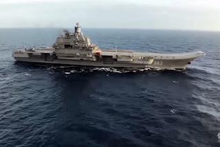 Kapal Induk Rusia lakukan Serangan Besar-besaran di kawasan Suriah - Commando