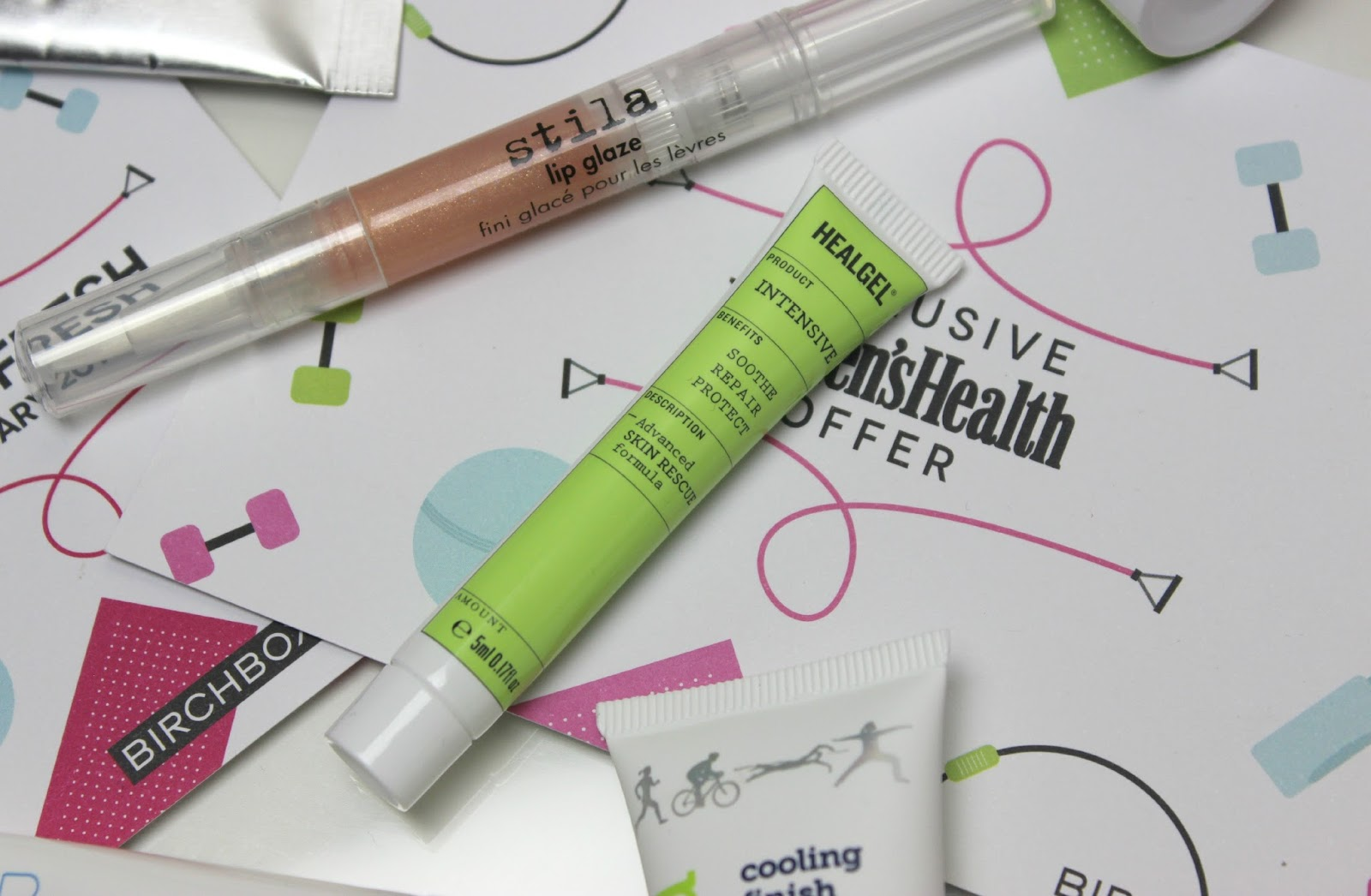 A picture of the Hit Refresh January 2015 Birchbox UK
