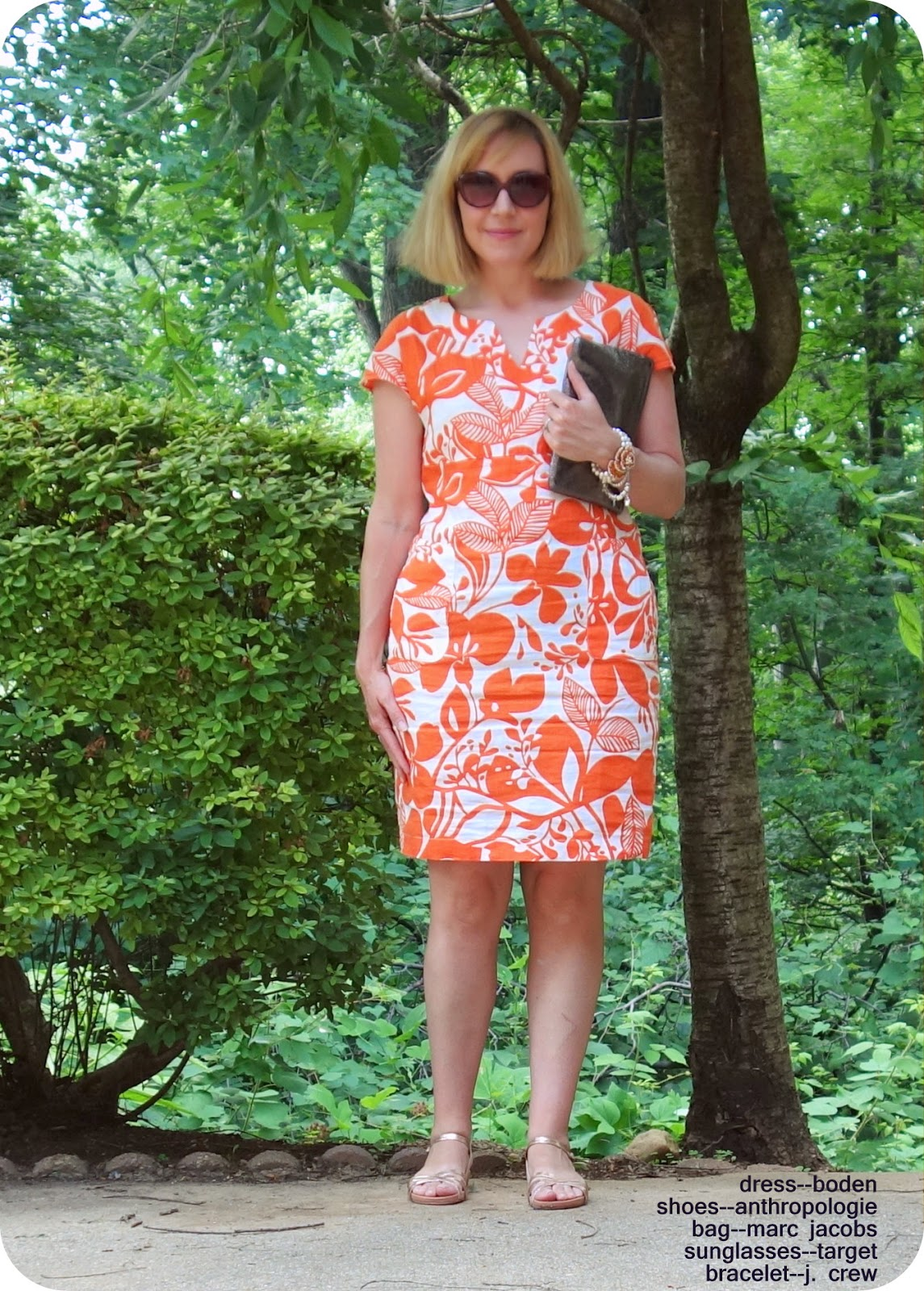 My Superfluities Ootd Review Boden Laid Back Dress
