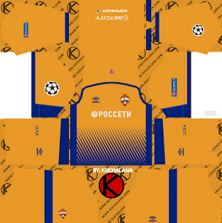 CSKA Moscow 2018/19 Kit - Dream League Soccer Kits