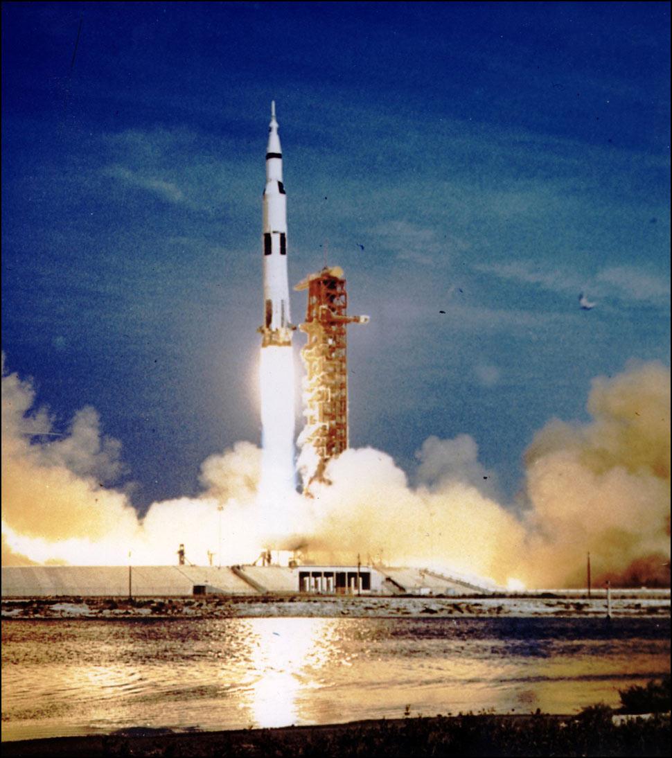 rocket landing on moon - photo #14
