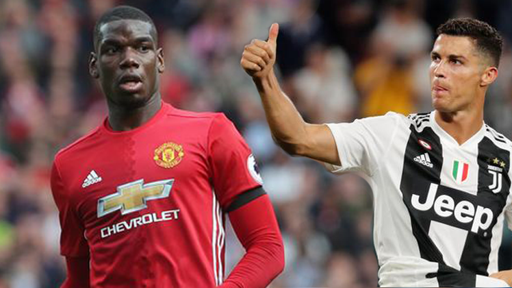 Pogba And Ronaldo to face former clubs