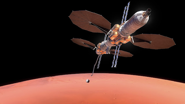 Mars sample return to Lockheed Martin Mars Base Camp