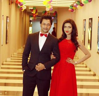 Bidya Sinha Saha Mim With Actor Mamnun Hasan Emon