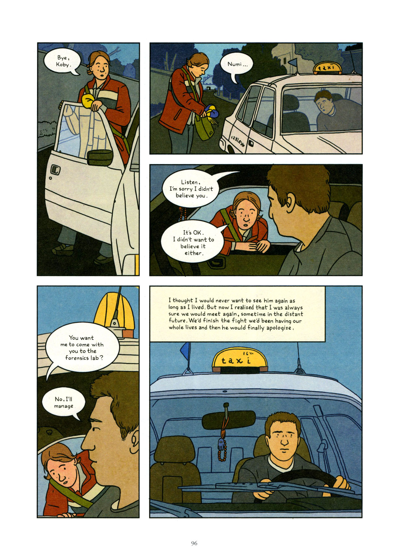 Read online Exit Wounds comic -  Issue # TPB - 97