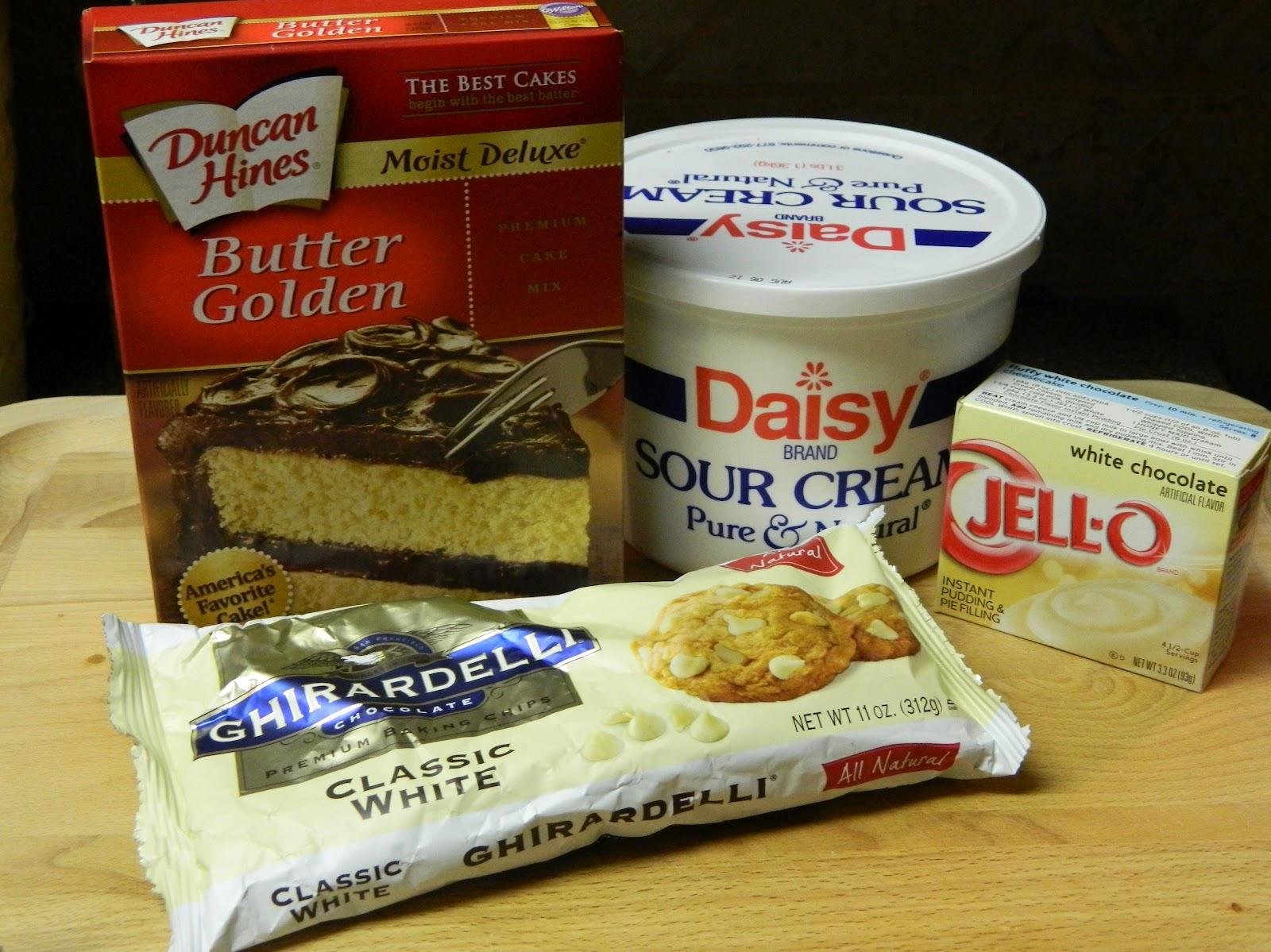Sugar Spice And Spilled Milk White Chocolate Chip Pound Cake