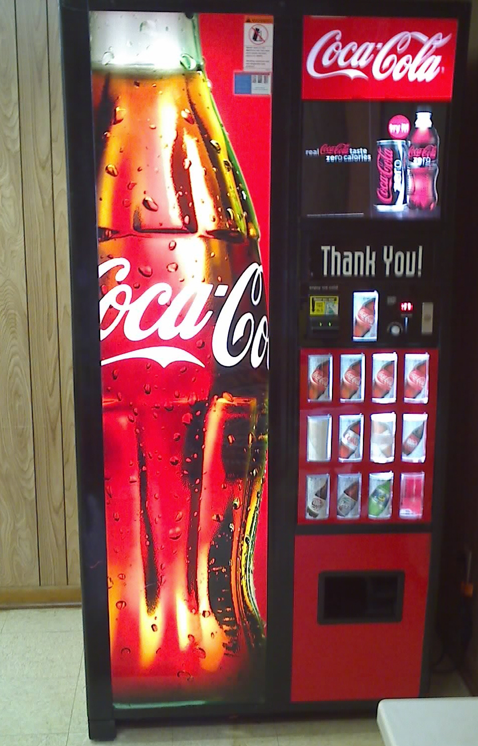 vending coke machine