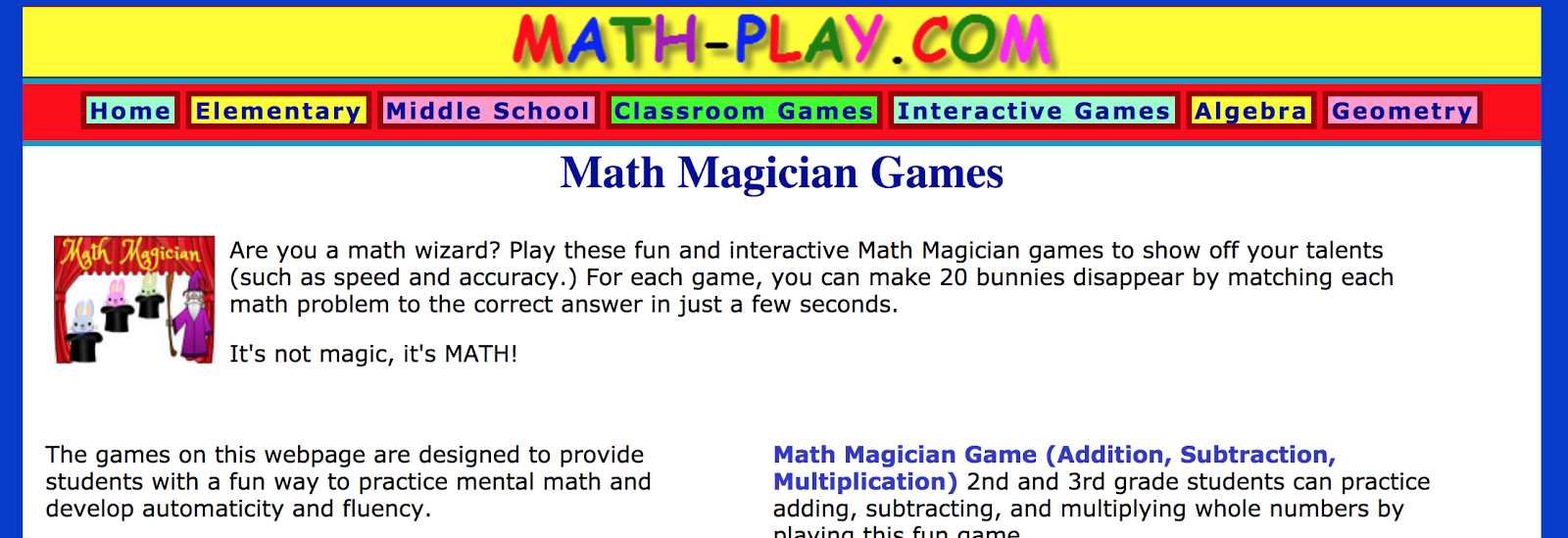Swamp Frog Kids: Math Magician Games