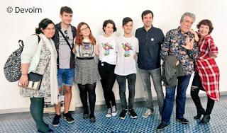 Escritores y organizadores en la ARC 2017