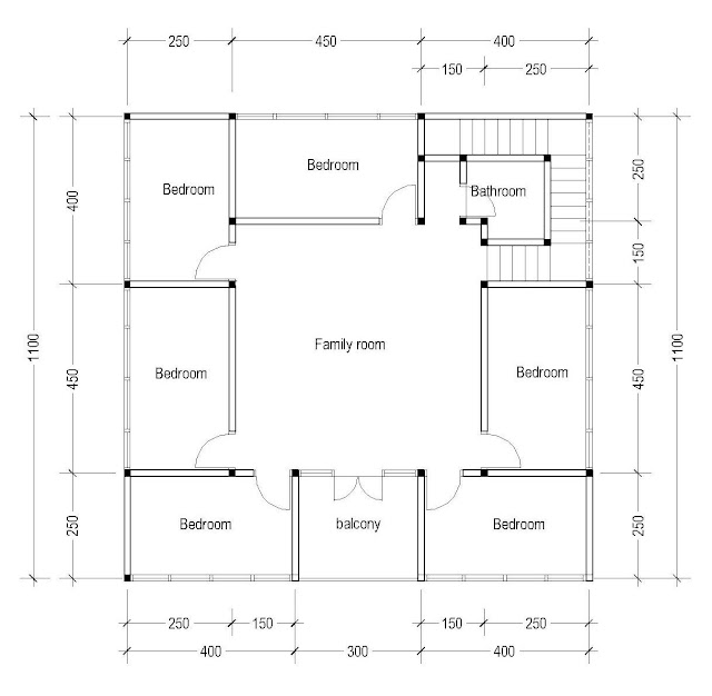 2nd Floor Plan for Plan c-04