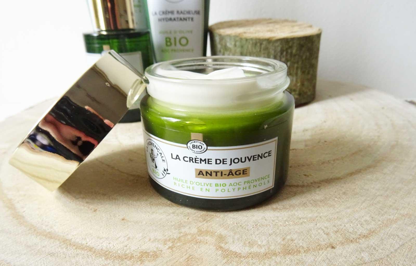 La Provençale soins visage bio naturels crème jouvance