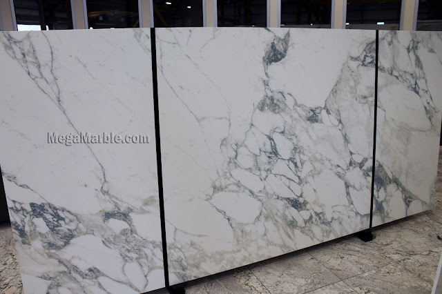 Arabescato Porcelain Slabs For Countertops & Shower Walls